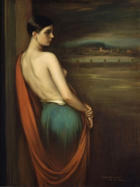 On the River Bank, 1928 by Julio Romero de Torres