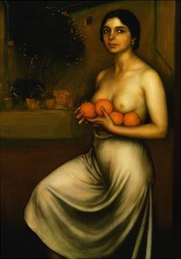 Oranges and Lemons, 1927 by Julio Romero de Torres
