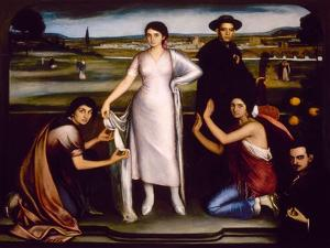 Our Lady of Andalucia, 1907 by Julio Romero de Torres