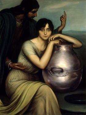 Samaritan Woman 1920 by Julio Romero de Torres