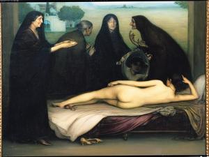 The Sin by Julio Romero de Torres