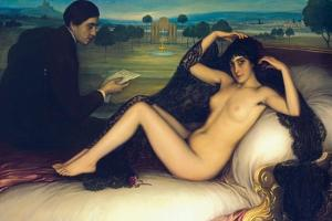 Venus of Poetry, 1913 by Julio Romero de Torres