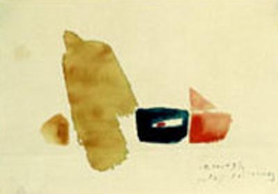 19.10.49I, c.1949 by Julius Bissier