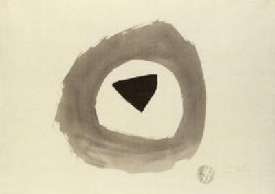 1948 E, c.1948 by Julius Bissier