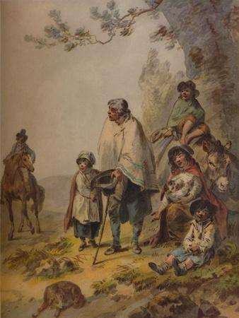 Gipsy Beggars, c1795