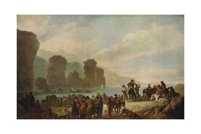 'Smugglers on the Irish Coast', 1808