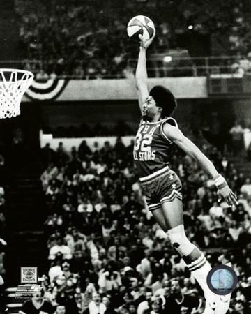 Julius Erving Slam Dunk Contest 1976 All-Star Game