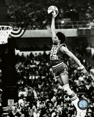 Julius Erving Slam Dunk Contest 1976 All-Star Game