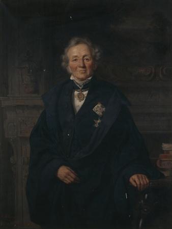 Portrait of German Historian Leopold Von Ranke, by Adolf Jebens (1819-1888), 1876