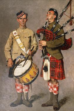 MacPherson and MacDonald by Julius Gari Melchers