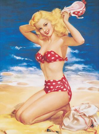 Nice to Know You - All American Beach Girl by Julius (Jules) Erbit