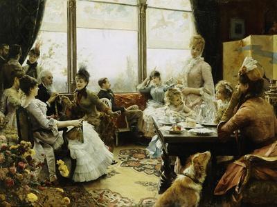 Five O'clock Tea, 1883-4