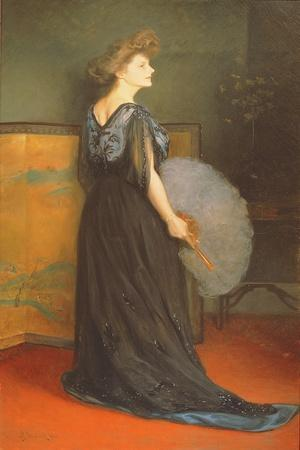 Portrait of Mrs Francis Stanton Blake, 1908