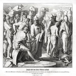 Joseph is sold by his brothers, Genesis by Julius Schnorr von Carolsfeld