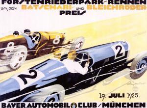 Bayer Auto Club Roadster, c.1924 by Julius U^ Engelhard