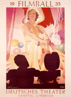 Filmball, c.1935 by Julius U. Engelhard