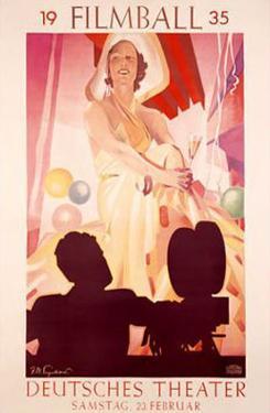 Filmball, c.1935 by Julius U^ Engelhard