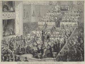 Jullien's Concert Orchestra and Four Military Bands, at Covent Garden Theatre