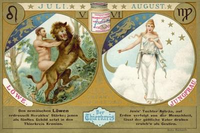 July and August: Leo and Virgo