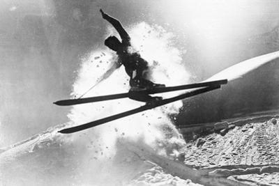 Jumping Skier 1930S