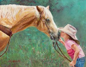 The First Kiss by June Dudley