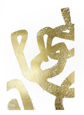 Gold Foil Symbiotic I by June Erica Vess