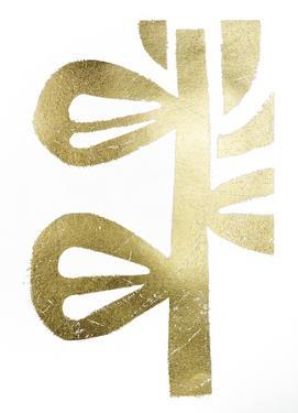 Gold Foil Symbiotic V by June Erica Vess