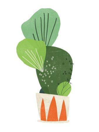 Happy Plants I by June Erica Vess