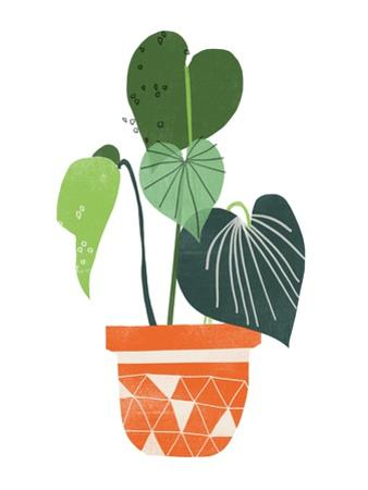 Happy Plants II by June Erica Vess