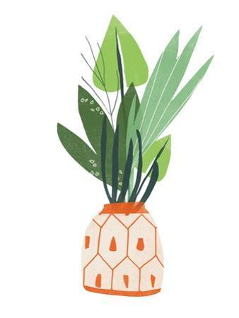 Happy Plants III by June Erica Vess