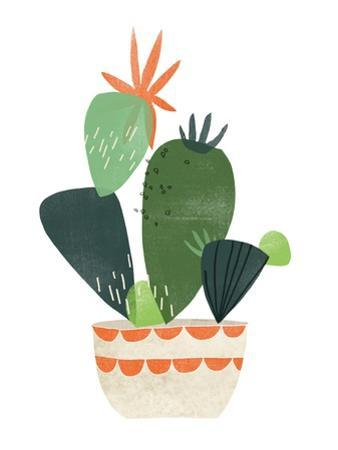 Happy Plants IV by June Erica Vess