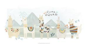 Llama Squad III by June Erica Vess