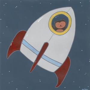 Monkeys in Space I by June Erica Vess