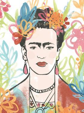 Portrait of Frida  II by June Erica Vess