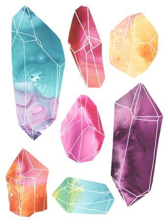 Prism Crystals I by June Erica Vess