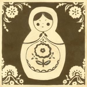 Russian Doll in Brown by June Erica Vess