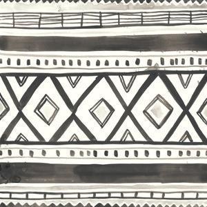 Tribal Echo III by June Erica Vess