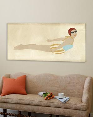 Vintage Diver I by June Erica Vess