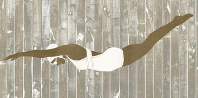 Vintage Diver IV by June Erica Vess