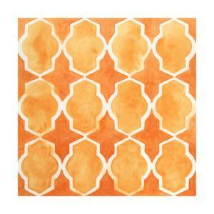 Watercolor Tiles IX by June Erica Vess