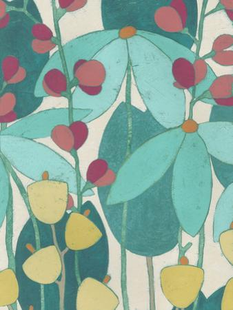 Wild Flower Glade I by June Erica Vess