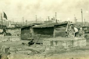Hooverville in 1931 by June Hayward Fifield