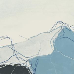 Blue Peaks I by June Vess