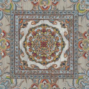 Boho Textile I by June Vess