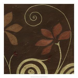 Cardamon Floral I by June Vess