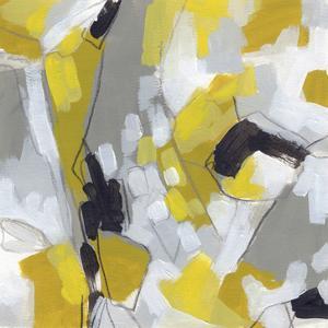 Citron Confetti I by June Vess