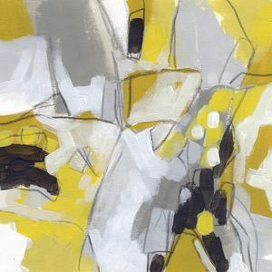 Citron Confetti IV by June Vess
