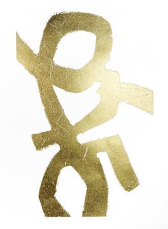 Gold Foil Symbiotic III by June Vess