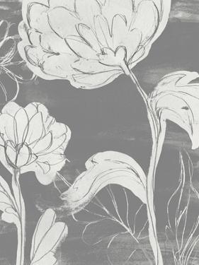 Grayscale Garden II by June Vess