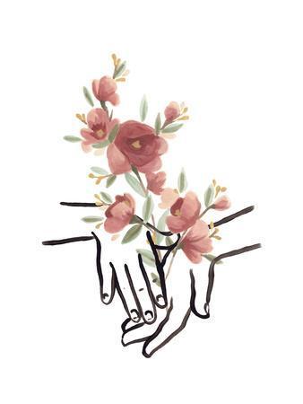 Hands and Flowers III